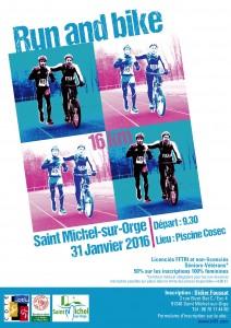 Affiche Run&Bike 2016